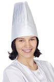 ελκυστική γυναίκα μαγείρων στοκ εικόνες