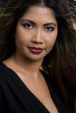 ελκυστική γυναίκα προσώ& Στοκ φωτογραφία με δικαίωμα ελεύθερης χρήσης