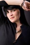 Ελκυστική ενήλικη επιχειρησιακή γυναίκα Στοκ Φωτογραφία