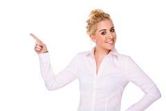ελκυστική επιχειρηματί&alp στοκ εικόνα με δικαίωμα ελεύθερης χρήσης