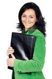 ελκυστική επιχειρησιακή γυναίκα Στοκ εικόνα με δικαίωμα ελεύθερης χρήσης