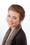 ελκυστική επιχειρησιακή γυναίκα Στοκ εικόνες με δικαίωμα ελεύθερης χρήσης
