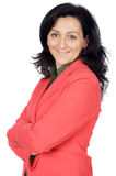 ελκυστική επιχειρησιακή κομψή γυναίκα Στοκ εικόνες με δικαίωμα ελεύθερης χρήσης