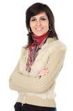 ελκυστική επιχειρησιακή κομψή γυναίκα Στοκ Εικόνες