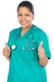 ελκυστική κυρία γιατρών Στοκ Εικόνες