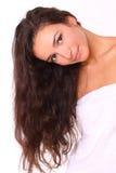 ελκυστική μακριά γυναίκ&alp στοκ εικόνα με δικαίωμα ελεύθερης χρήσης