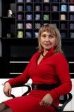 Ελκυστική νέα γυναίκα Στοκ Εικόνες