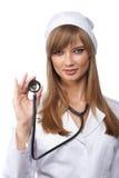 ελκυστική νοσοκόμα Στοκ Εικόνες