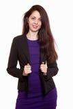 Ελκυστική ρωσική καυκάσια γυναίκα brunette στοκ εικόνα με δικαίωμα ελεύθερης χρήσης