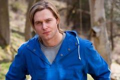 Ελκυστικός νεαρός άνδρας Στοκ εικόνες με δικαίωμα ελεύθερης χρήσης