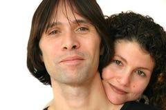 ελκυστικό ζεύγος Στοκ εικόνα με δικαίωμα ελεύθερης χρήσης