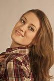 ελκυστικό πορτρέτο κορ&iota Στοκ φωτογραφία με δικαίωμα ελεύθερης χρήσης