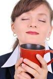 ελκυστικό φλυτζάνι καφέ &eps Στοκ εικόνες με δικαίωμα ελεύθερης χρήσης