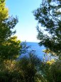 Ελλάδα, διακοπές στο νησί Skiathos Στοκ Εικόνες