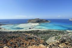 Ελλάδα, Κρήτη, ζαλίζοντας λιμνοθάλασσα Balos στοκ φωτογραφία με δικαίωμα ελεύθερης χρήσης