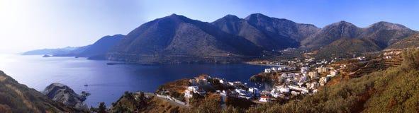 Ελλάδα Κρήτη Χωριό Μπαλί Στοκ Εικόνες