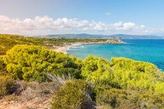 Ελλάδα προορισμός Νησί Skiathos στοκ εικόνα με δικαίωμα ελεύθερης χρήσης