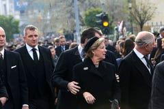 Ελλάδα ` s βασίλισσα Anne Marie Στοκ φωτογραφία με δικαίωμα ελεύθερης χρήσης