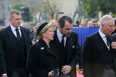 Ελλάδα ` s βασίλισσα Anne Marie Στοκ Εικόνες