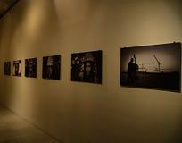 ΕΛΛΑΔΑ, ΑΘΗΝΑ - 25 ΜΑΡΤΊΟΥ 2017: Μια έκθεση στο Σταύρος Niarchos Foundation Cultural Center στοκ φωτογραφία με δικαίωμα ελεύθερης χρήσης