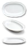 ελλειπτικά δείγματα πιάτων Στοκ εικόνες με δικαίωμα ελεύθερης χρήσης