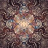 Ελλειπτικό fractal Στοκ Εικόνα