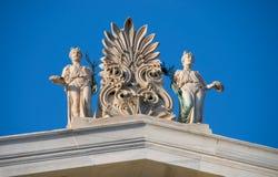 ελληνικά αγάλματα στοκ φωτογραφία