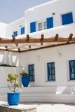 ελληνικά νησιά αρχιτεκτονικής Στοκ εικόνα με δικαίωμα ελεύθερης χρήσης