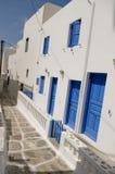 ελληνικά νησιά κτηρίων Στοκ εικόνα με δικαίωμα ελεύθερης χρήσης