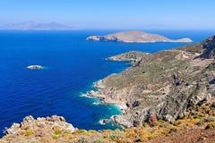 ελληνικά νησιά Στοκ Φωτογραφία
