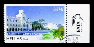 Ελληνικά νησιά - Kos, serie, circa 2008 Στοκ φωτογραφίες με δικαίωμα ελεύθερης χρήσης