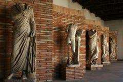 ελληνικά ρωμαϊκά αγάλματα & Στοκ Εικόνα