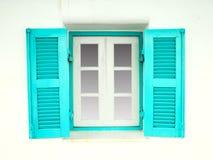 Ελληνικά Windows ύφους Στοκ Φωτογραφία