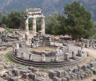 ελληνικές καταστροφές των Δελφών στοκ εικόνα με δικαίωμα ελεύθερης χρήσης