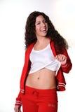 ελληνική γυναίκα γυμνασ Στοκ Εικόνες