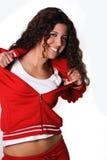 ελληνική γυναίκα γυμνασ Στοκ Εικόνα