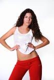 ελληνική γυναίκα γυμνασ Στοκ εικόνες με δικαίωμα ελεύθερης χρήσης