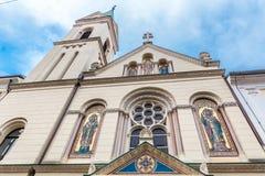 Ελληνική καθολική εκκλησία - Ζάγκρεμπ, Κροατία Στοκ φωτογραφία με δικαίωμα ελεύθερης χρήσης