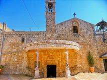Ελληνική Ορθόδοξη Εκκλησία Annunciation, Ναζαρέτ, Ισραήλ Στοκ Φωτογραφίες