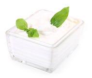 ελληνική σαλάτα εμβύθιση Στοκ φωτογραφία με δικαίωμα ελεύθερης χρήσης