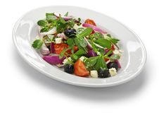 Ελληνική σαλάτα με το purslane Στοκ Φωτογραφίες