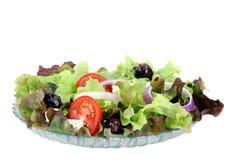 ελληνική σαλάτα φέτας τυριών Στοκ Εικόνα