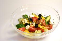 ελληνική σαλάτα στοκ φωτογραφία με δικαίωμα ελεύθερης χρήσης