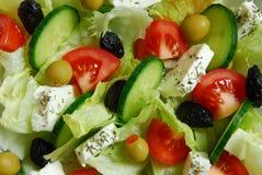 ελληνική σαλάτα Στοκ εικόνα με δικαίωμα ελεύθερης χρήσης