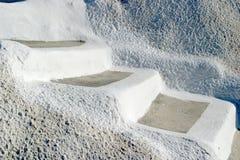 ελληνική σκηνή santorini νησιών χαρ& Στοκ Φωτογραφία