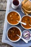ελληνική σούπα τροφίμων φασολιών παραδοσιακή Στοκ εικόνα με δικαίωμα ελεύθερης χρήσης