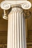 Ελληνική στήλη Στοκ φωτογραφία με δικαίωμα ελεύθερης χρήσης