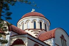Ελληνική χριστιανική εκκλησία Στοκ Εικόνες