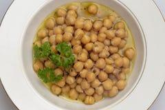 Ελληνική chickpea σούπα άνωθεν στοκ φωτογραφίες με δικαίωμα ελεύθερης χρήσης