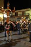 Ελληνικοί εορτασμοί Πάσχας στην Κρήτη Στοκ φωτογραφία με δικαίωμα ελεύθερης χρήσης